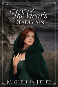 Is It True: The Vicar's Deadly Sin by Miguelina Perez #RLFblog
