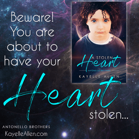 Read a new sweet SciFi: A Stolen Heart by Kayelle Allen #SciFi #MM #RLFblog