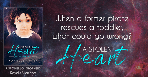 Read a SciFi this weekend: A Stolen Heart by Kayelle Allen #SciFi #MM #RLFblog