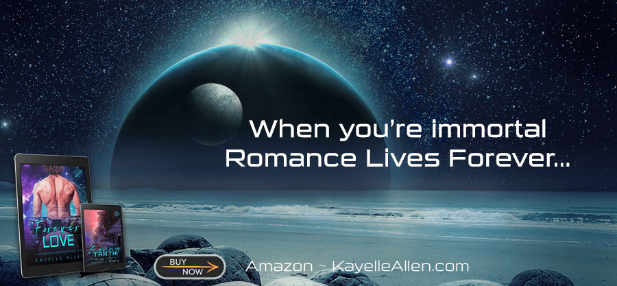 Surrender Love / Ring of the Dragon / Forever Love by Kayelle Allen #SciFi #MMromance #RLFblog