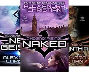 The Phoenix Rising series by Alexandra Christian @lexxxchristian #RLFblog #SciFi #romance