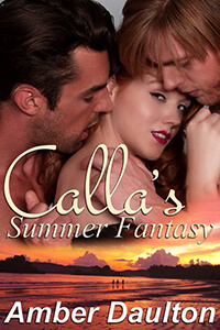 """Find out what Calla from Calla's Summer Fantasy wears to bed. Amber Daulton """"bares"""" all @AmberDaulton1 #RLFblog #ContemporaryRomance"""