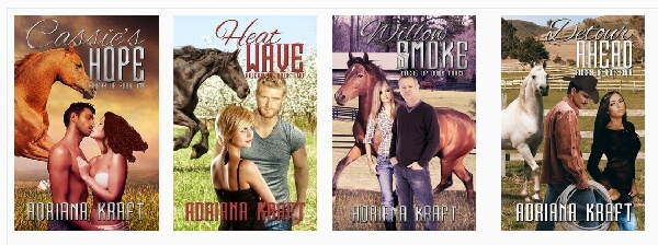 Riders Up Series by Adriana Kraft @AdrianaKraft #RLFblog #RomanticSuspense