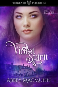 Read the new Violet Spirit by Abbey MacMunn @abbeymacmunn #RLFblog #paranormalromance #SciFi