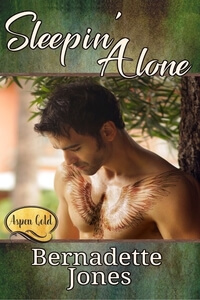 Read the new release in the Aspen Gold Series, Sleepin' Alone by Bernadette Jones #RLFblog #RomanticSuspense