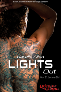 He can save mankind. If he dies. Lights Out by Kayelle Allen #RLFblog #SpaceOpera