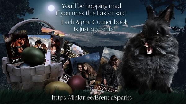 Read the series: The Alpha Council Chronicles by Brenda Sparks @brenda_sparks #RLFblog #ParanormalRomance