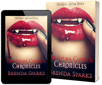 #Paranormal Romance #Vampire The Alpha Council Chronicles by Brenda Sparks @brenda_sparks #RLFblog