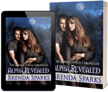 Read the new vampire PNR Alpha Revealed by Brenda Sparks @brenda_sparks #RLFblog #NewRelease #PNR