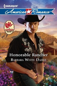 Read the contemporary western romance Honorable Rancher by Barbara White Daille @BarbaraWDaille #RLFblog #contemporaryromance #western