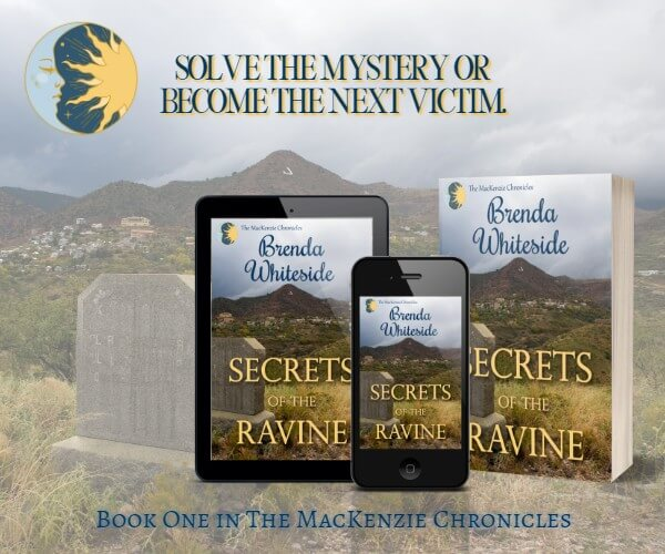 "Find out what Magpie MacKenzie from Secrets of The Ravine wears to bed. Brenda Whiteside ""bares"" all @brendawhitesid2 #RLFblog #RomanticSuspense"