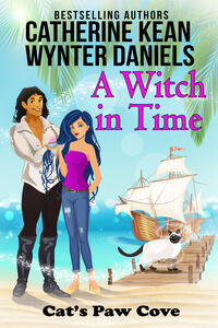 Read A Witch in Time by Catherine Kean #RLFblog #Timetravel #Romance