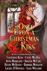 Once Upon a Christmas Kiss by Cathy MacRae #ChristmasRomance #Read