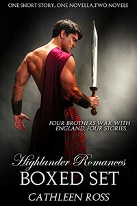 Read the #Highlander Romance boxed set Highlander Romances by Cathleen Ross @cathleenross #RLFblog #Romance