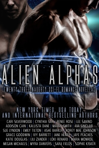 Alien Alphas by Cynthia Sax and Friends @CynthiaSax #RLFblog #SciFi #Romance
