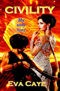 Civility, last of the To Be Sinclair series by Eva Caye @evacaye #RLFblog #scifi #romance