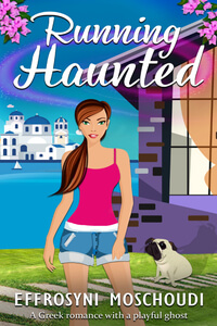 Fiction Furbaby: Meet Charlie from Running Haunted by Effrosyni Moschoudi @FrostieMoss @RobsRescues #Ghost #RLFblog #Pets