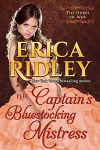 Read free: The Captain's Bluestocking Mistress by Erica Ridley #FreeBookFriday #RLFblog