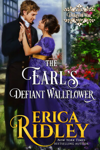 The Earl's Defiant Wallflower by Erica Ridley #FreeBookFriday #Read #Regency