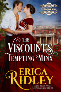The Viscount's Tempting Minx by Erica Ridley twittername #FreeBookFriday #RLFblog #Regency