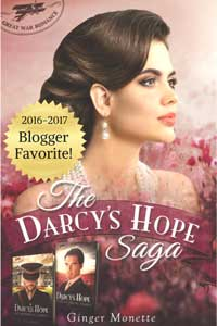 Bucket list of Capt. Fitzwilliam Darcy from Darcy's Hope Ginger Monette #HistoricalRomance