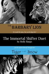 Read The Immortal Shifter Duet by Holly Bargo #FreeBookFriday #Read