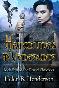 Introducing Glyn of Clan Miller from Hatchling's Vengeance (#4 of the Dragshi Chronicles) by Helen Henderson @history2write #RLFblog #fantasy #dragonshifters