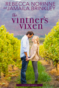 The Vintner's Vixen by Rebecca Norinne and Jamaila Brinkley @rebecca_norinne @jamaila #RLFblog #contemporaryromance