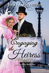 Discover fast fun facts about Juli D Revezzo author of Engaging the Heiress (Camden Girls #2) @julidrevezzo #RLFblog #historicalromance