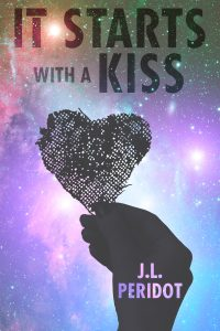 It Starts With A Kiss by JL Peridot @jlperidot #RLFblog #NewRelease #SciFi #Romance
