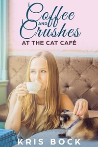 Coffee and Crushes at the Cat Cafe by Kris Bock @Kris_Bock #RLFblog A sweet #romance with #recipe