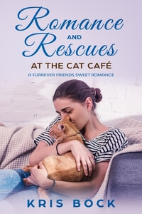 A new Cat Café sweet #romance by @Kris_Bock plus a #freebook #RLFblog