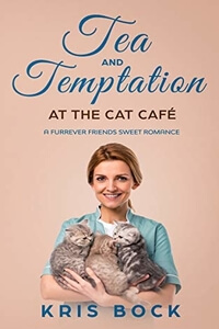 A new Cat Café sweet #romance by Kris Bock @Kris_Bock plus a #freebook #RLFblog