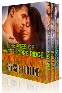 Heroes of Westhorpe Ridge by Kryssie Fortune @KryssieFortune #RLFblog #Military #Romance