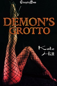 Demon's Grotto by Kate Hill @katehillromance #RLFblog #NewRelease #darkfantasy