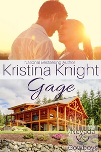 Read Gage in the Nevada Cowboys series by Kristina Knight @AuthorKristina #RLFblog #NewRelease #contemporaryromance