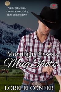 Moonlight Kisses and MugShots by Lorelei Confer @loreleiconfer #RLFblog #RomanticSuspense