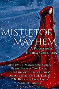 Mistletoe and Mayhem by Lizzy Hunter #ChristmasRomance #Read