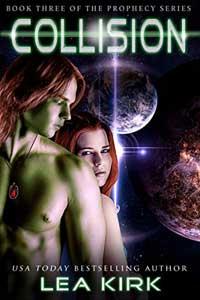 Collision by Lea Kirk @LeaKirkWrites #RLFblog #SciFi #Romance