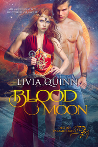 Blood Moon, a new #PNR by Livia Quinn @liviaquinn #RLFblog #paranormal