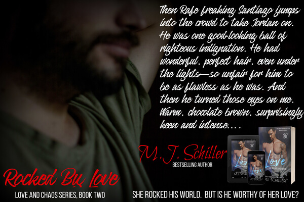 Read a Rock Star Romance: Rocked By Love by MJ Schiller @mjschiller #RLFblog #ContemporaryRomance