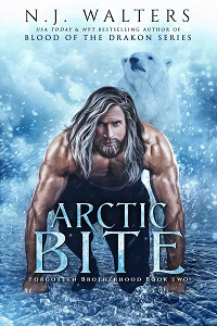 New paranormal book Arctic Bite by NJ Walters @njwaltersauthor #RLFblog #ParanormalRomance #PNR