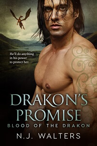 Read free on KU: Drakon's Promise by NJ Walters @njwaltersauthor #FreeBookFriday #RLFblog #PNR