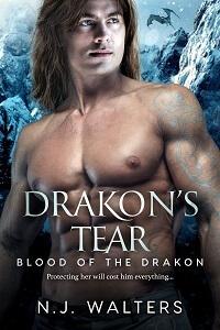 Drakon's Tear by NJ Walters @njwaltersauthor #RLFblog #PNR