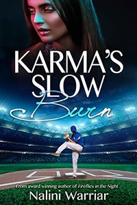 Stressing Karma Deepika Huntington from Karma's Slow Burn by Nalini Warriar @nwarriar #RLFblog #Contemporary Sports Romance