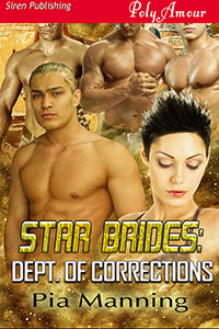 Star Brides: Dept of Corrections by Pia Manning @piamanning3 #RLFblog #NewRelease #romance #SciFi