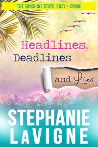 Discover fast fun facts about Stephanie LaVigne, author of Headlines, Deadlines, and Lies @stephunderwater #RLFblog #cozymystery #sweetromance