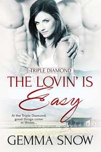 The Lovin' Is Easy by GemmaSnow @GemmaSnowAuthor #RLFblog #WesternRomance