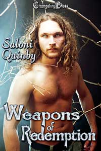 Weapons of Redemption by Saloni Quinby @katehillromance #RLFblog #LGBT #romance