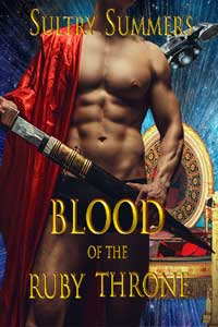 Meet High Lord Sarc from Blood of the Ruby Throne by Sultry Summers @SultrySummers1 #RLFblog #scifi #romance